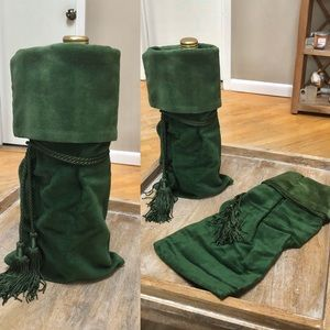 Other - Set of 3 Velvet Wine Holder Bags